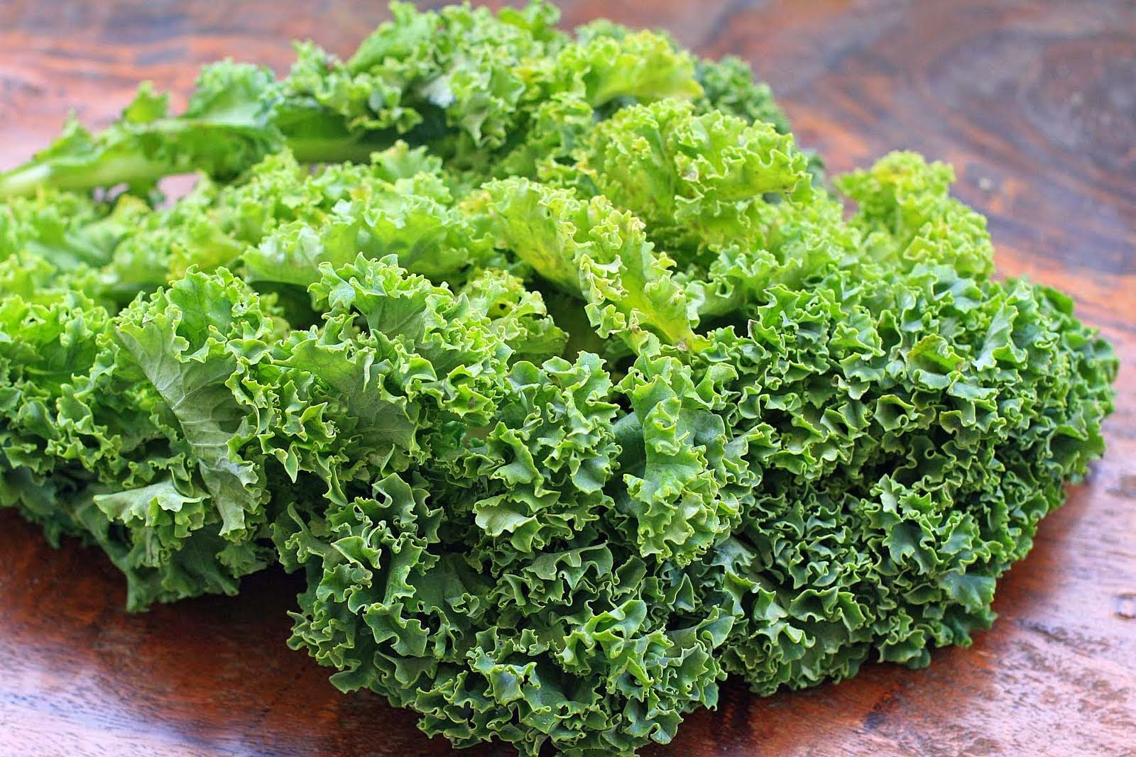 Vegetables like kale